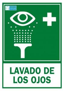Lavado de ojos