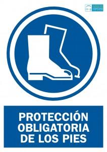 Obligacion proteccion pies