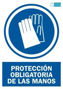 Obligacion usar guantes