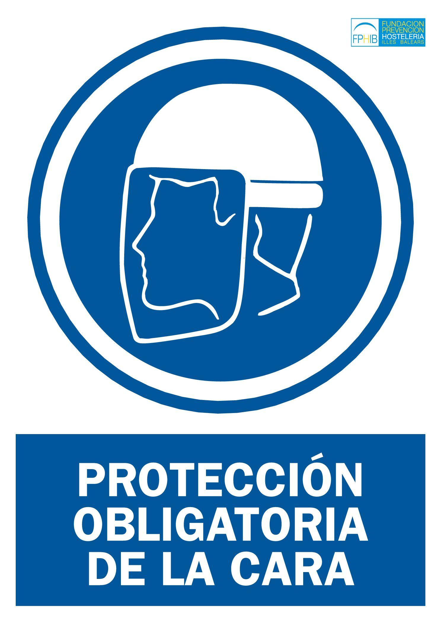 Obligación proteccion cara